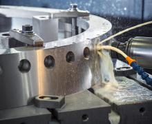 Variable pitch vane machine - turbine engine application